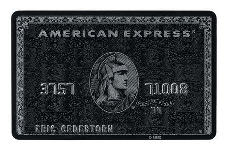 American Express Black Card (Centurion)