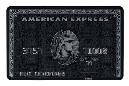 American Express Black Card (Centurion)
