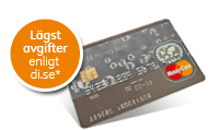 Kreditkort - ge money bank master card